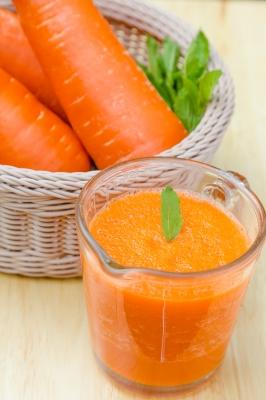 mrkvová štava pre pH